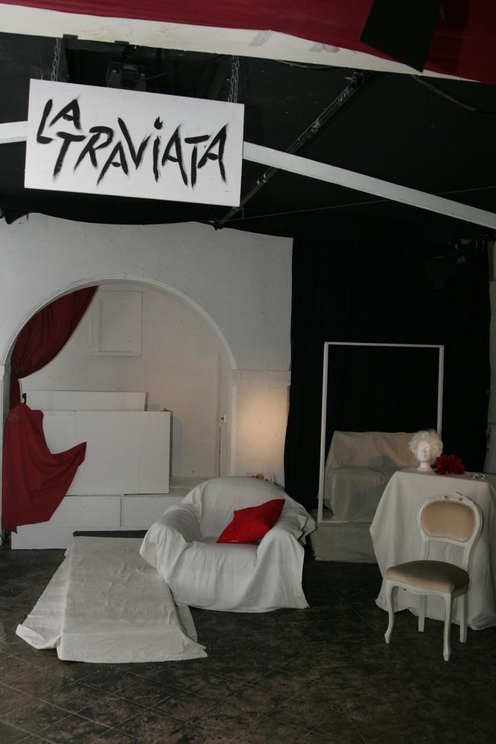 Bühne im Severins-Burg-Theater Köln