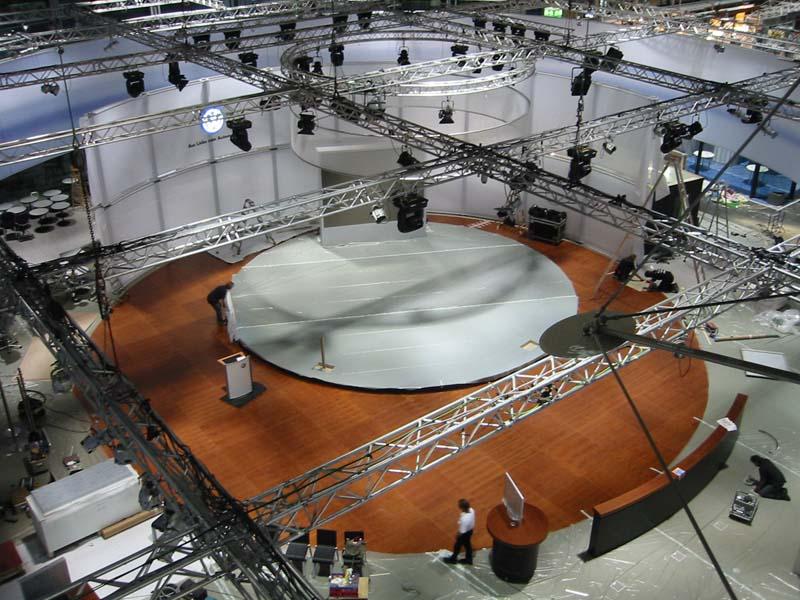 Bühnenansicht