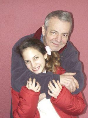 Bülent BOLAKCA und Tochter IPEK