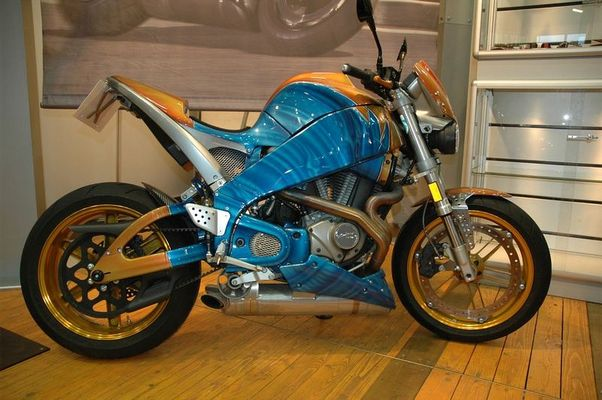 "BUELL ""THE FUNKY BEAST"" XB12S"