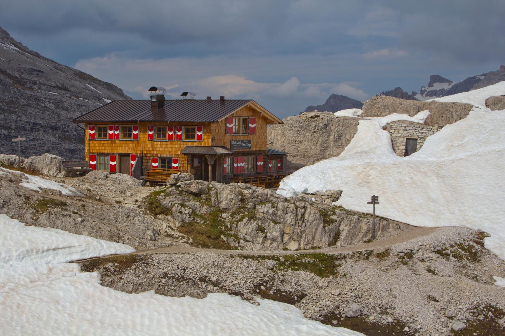 Büllelejochhütte / Rifugio Pian di Cengia 2528 m