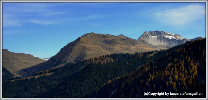 Bündner Landschaft bei Arosa;GR;CH