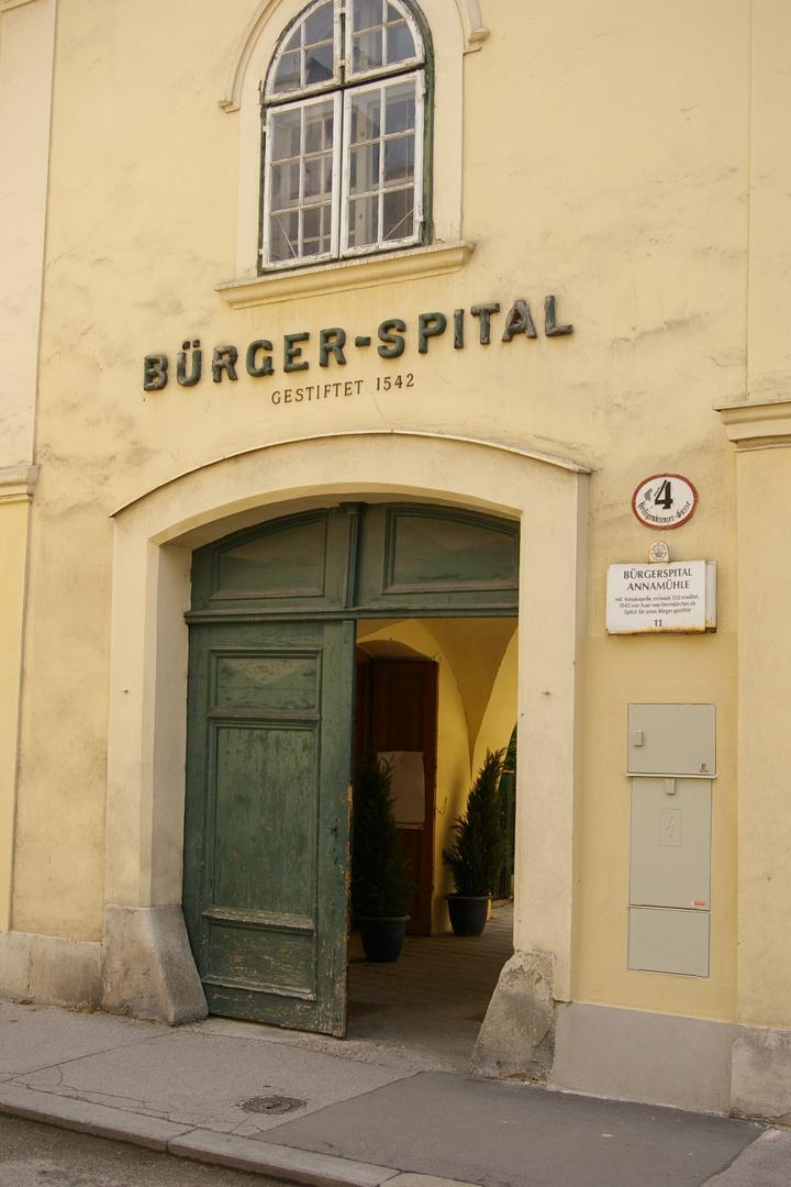 Bürger Spital 1542