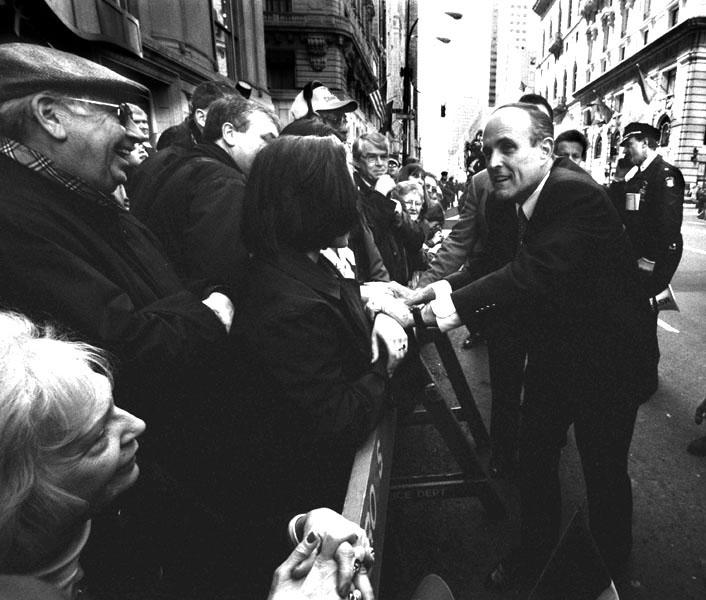 Bürgermeister NYC Rudolph Giuliani