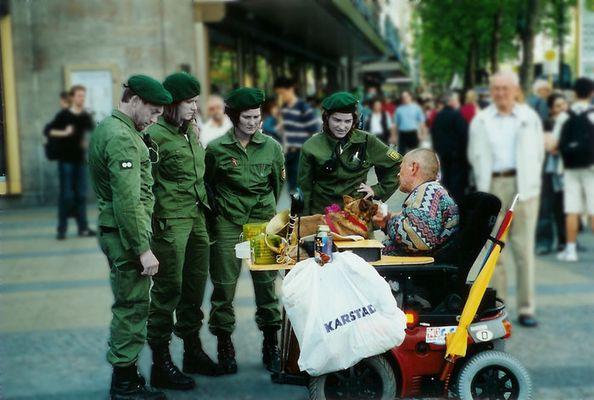 Bürgernaher Polizeieinsatz