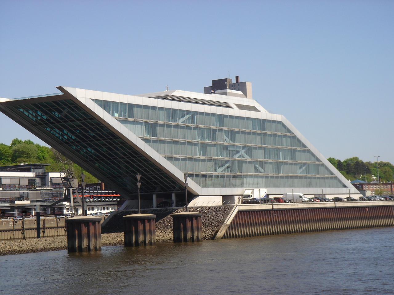 Büro Gebäude bei der Hamburger Hafen