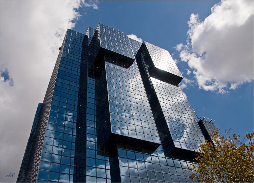 Bürogebäude in London's City