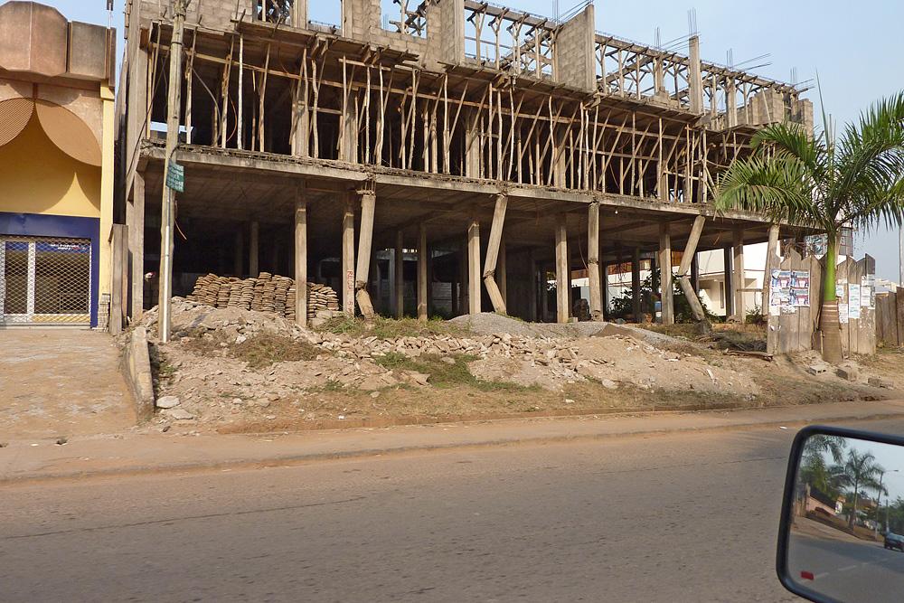 Bürohaus - Neubau in Yaoundé / Cameroun