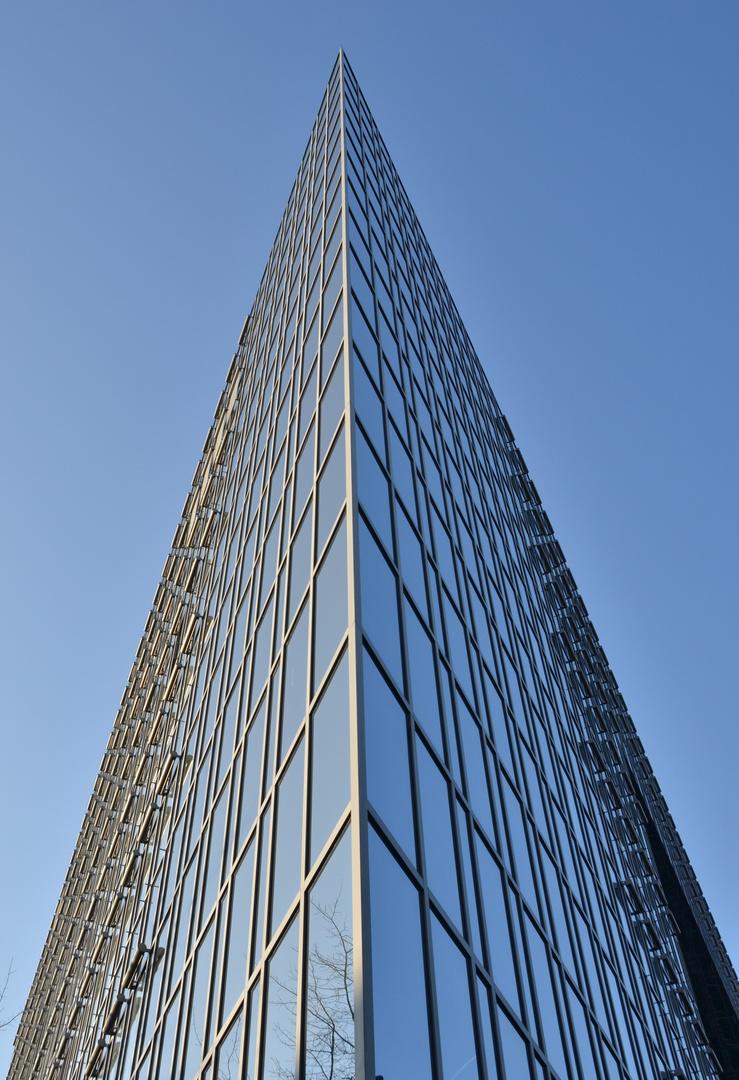 Büros hinter Glas