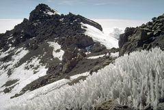 Büßereis am Kilimandscharo