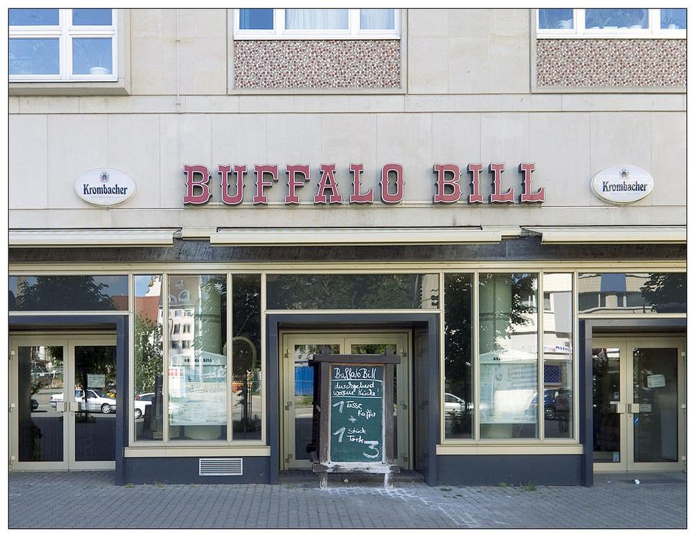 buffalo bill. durchgehend warme küche