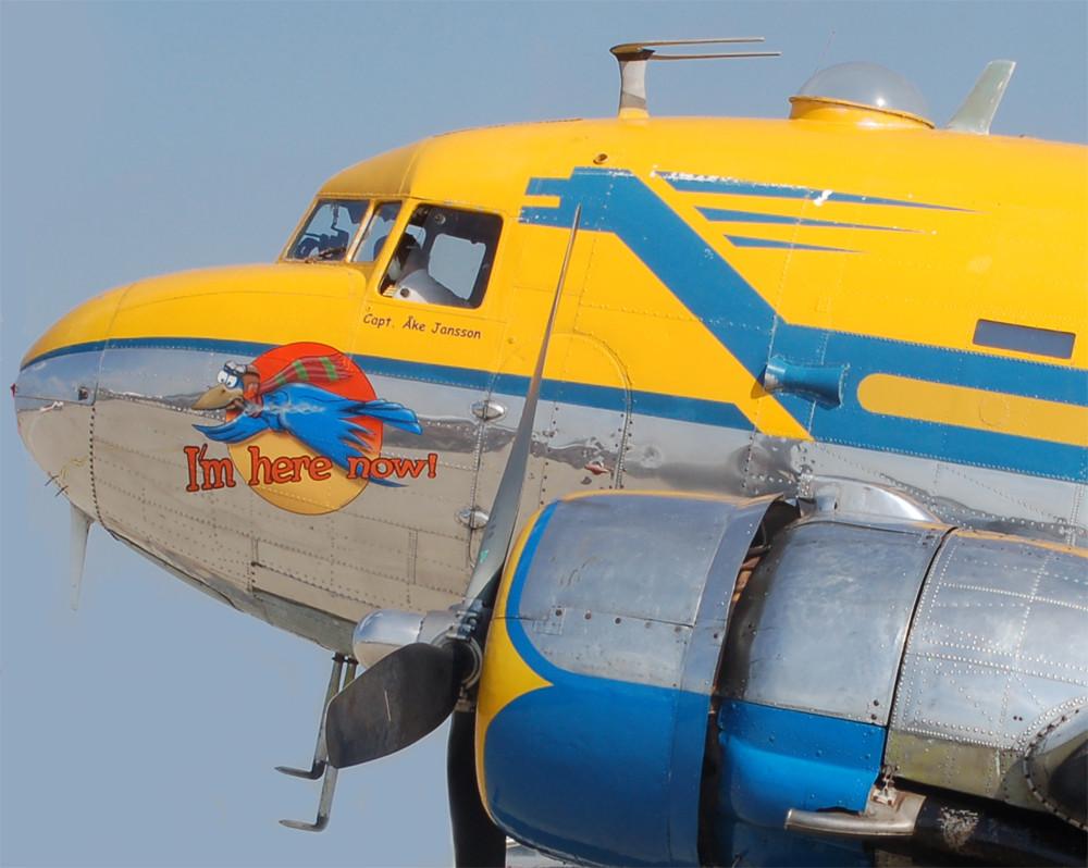 Bug der Douglas DC-3