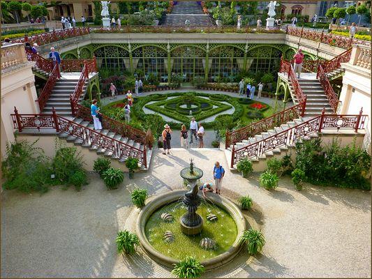 BUGA 2009: Schloss Schwerin - Orangerie mit Garten