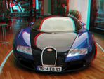 Bugatti - 3D - für Rot/Grün-Brille