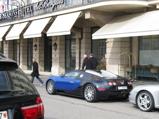 Bugatti in Genf