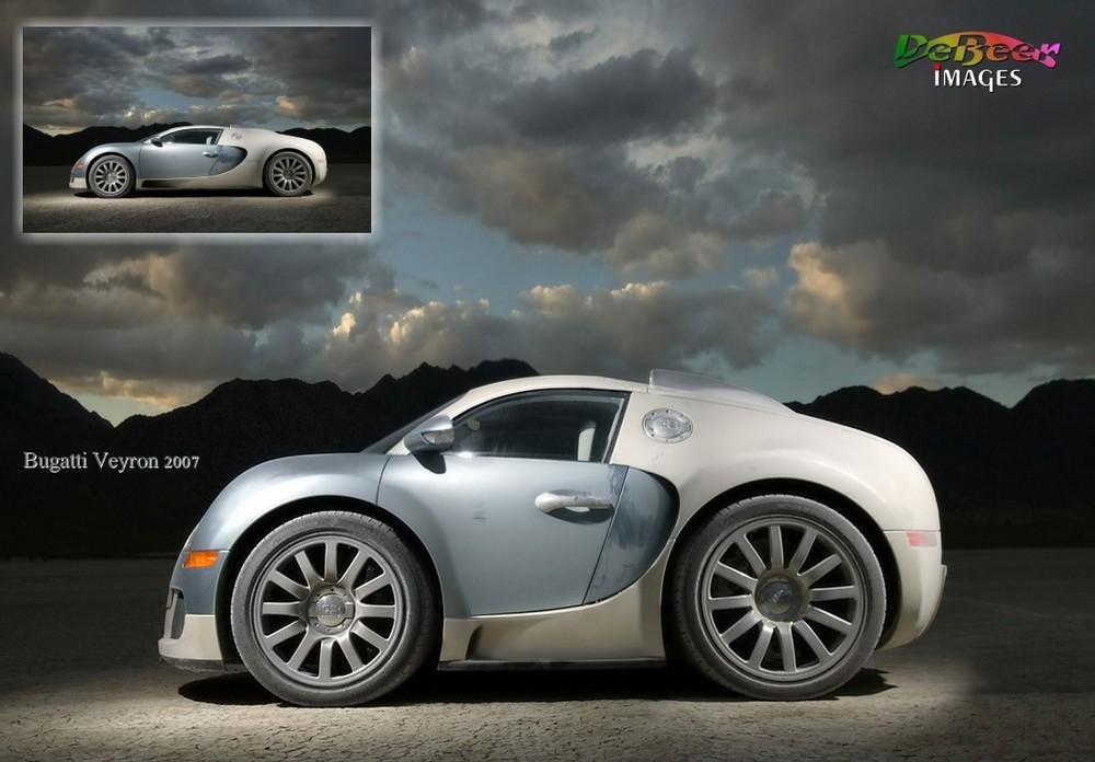 Bugatti Veyron 2007 - Shorty