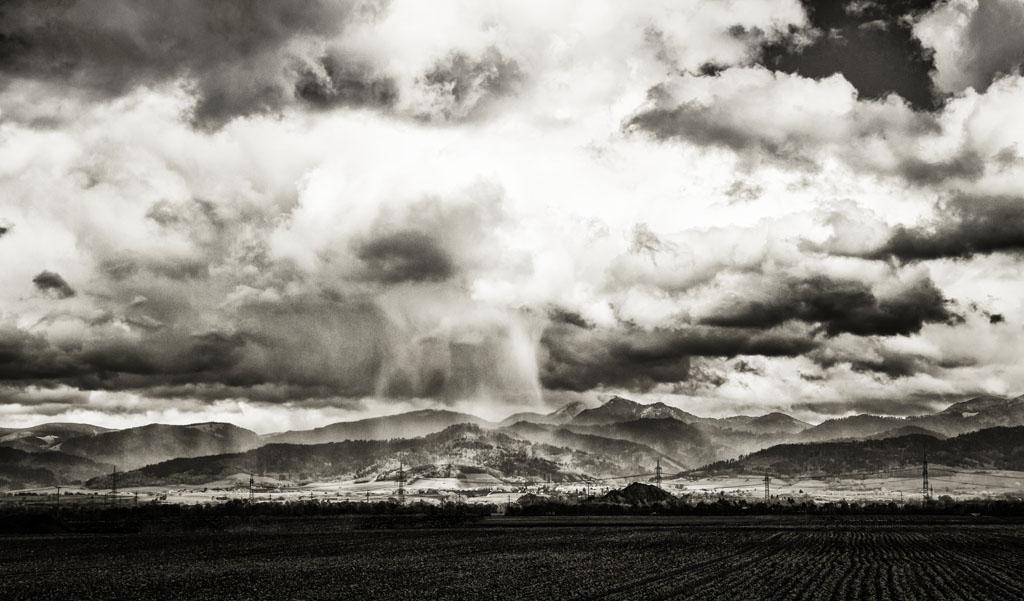 Buggingen bei Regen