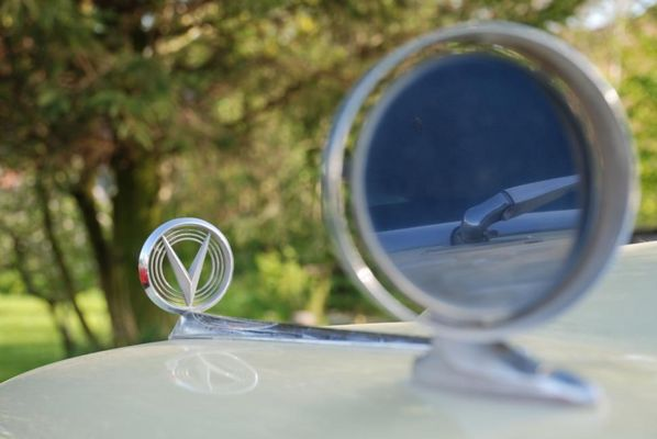 Buick Special in the mirror