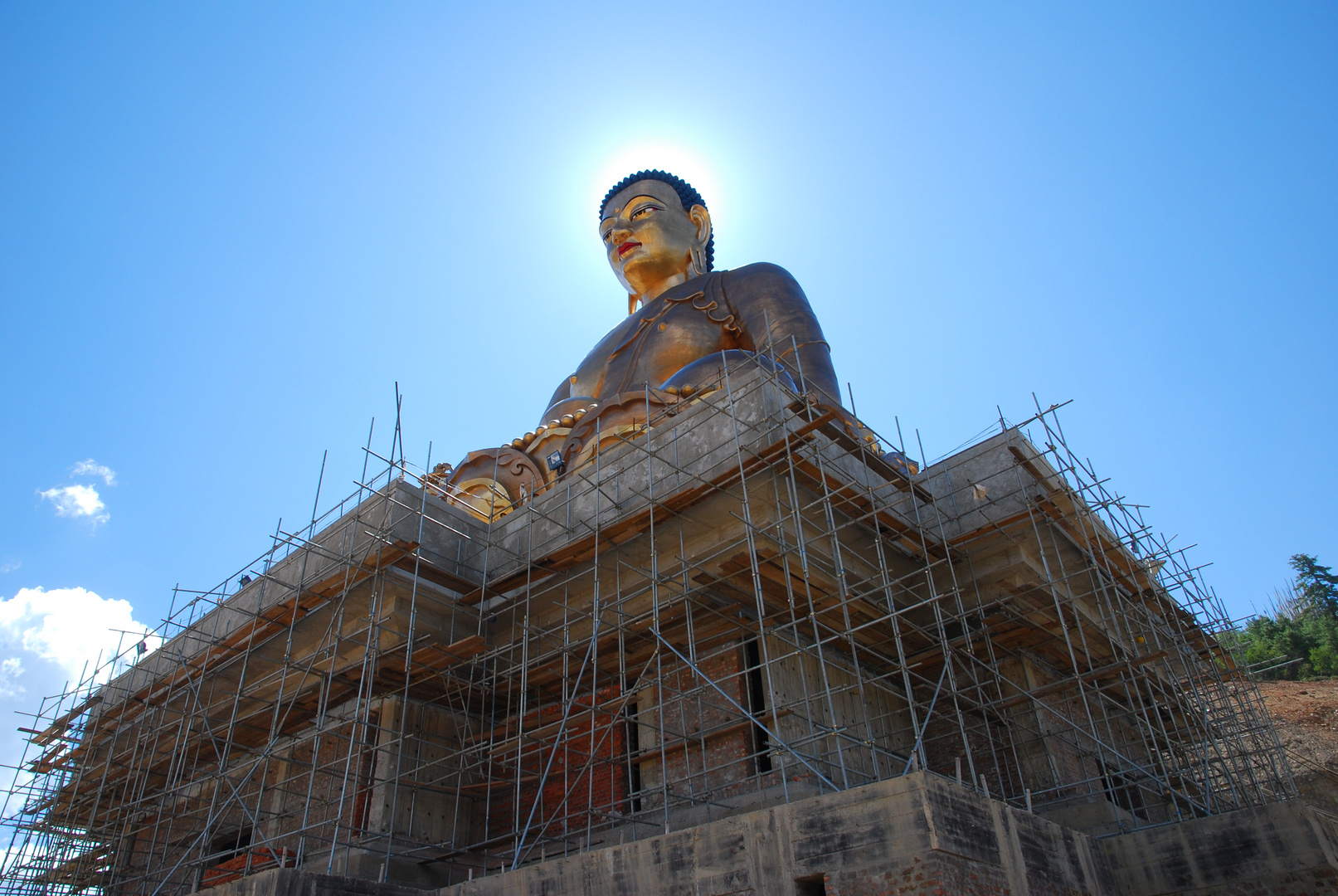 ...building a new Buddha