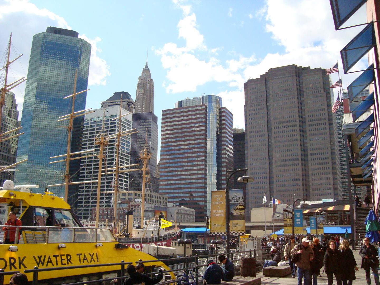 Buildings vus de South street seaport