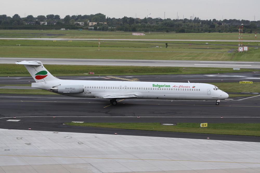 Bulgarian Air Charter McDonnell Douglas DC-9 Super 80