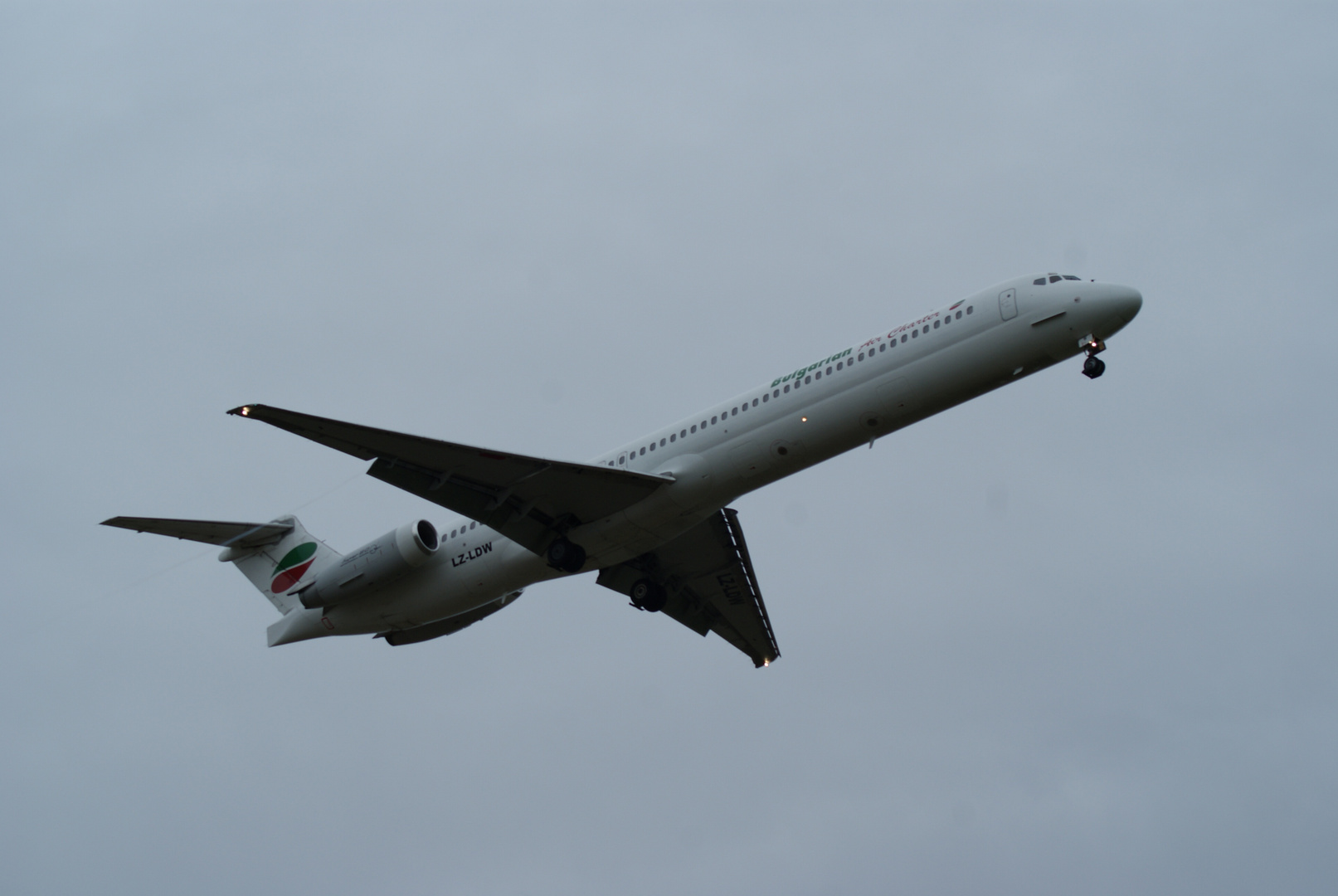 Bulgarian Air Charter MD82