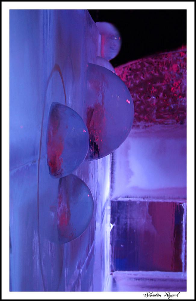 bulle de glace