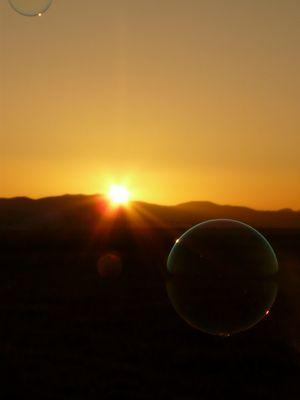 bulle de soleil