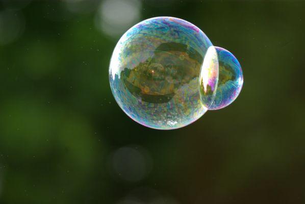 bulle éphémère