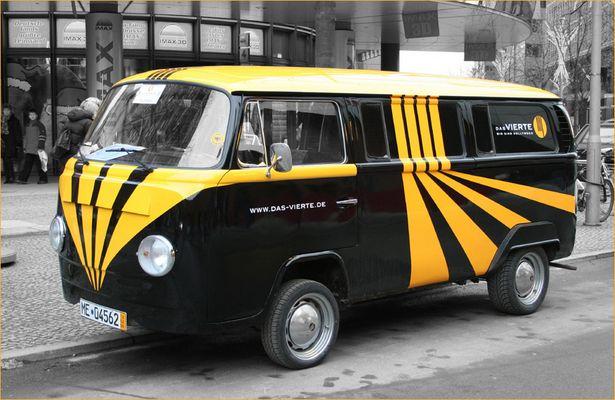 Bulli in Berlin