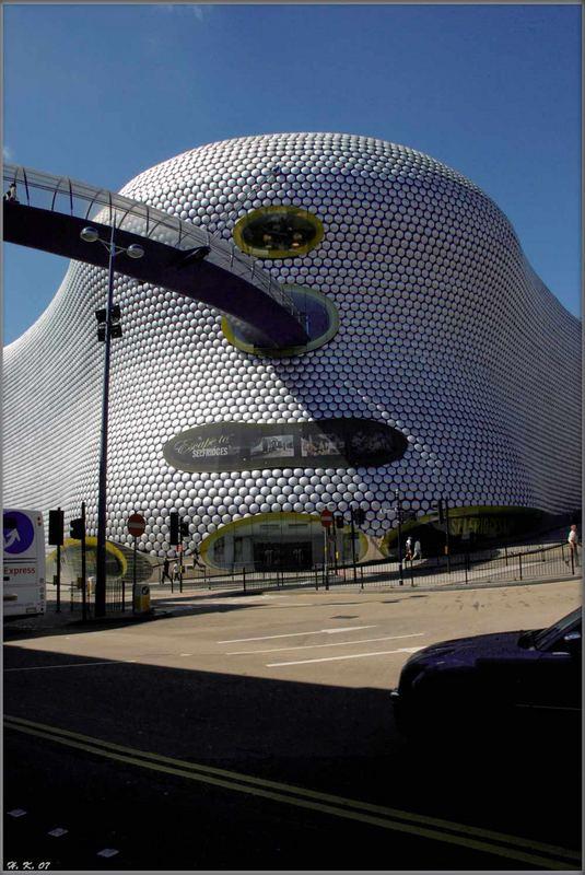 Bullring Einkaufszentrum Birmingham England