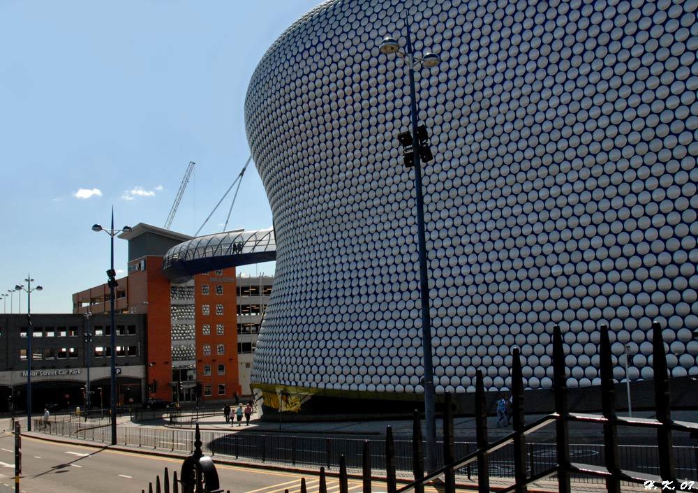 Bullring in Birmingham - England