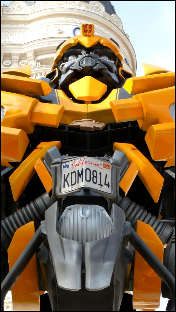 Bumblebee devant le Carlton !!!