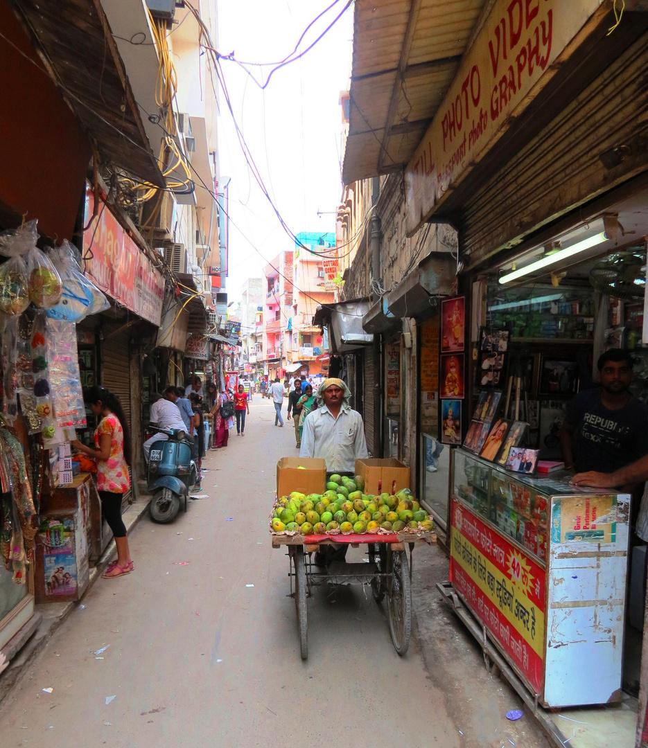 Bummel durch Old Delhi