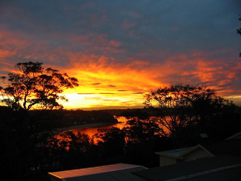 Bundeena Bay Sunset