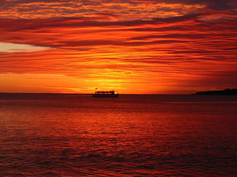 Bundeena Ferry at Sunrise