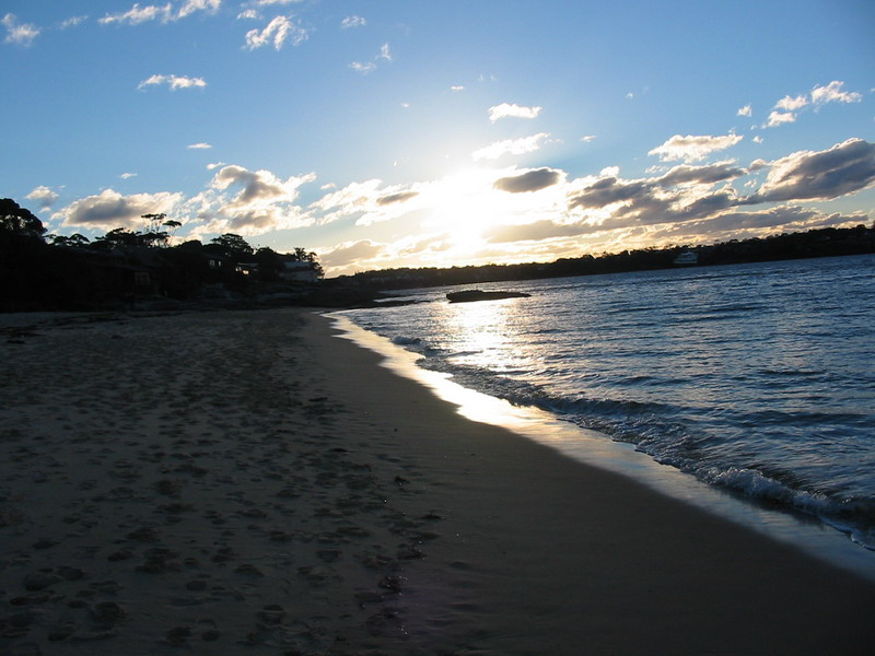 Bundeena Jibbon Beach Sunset