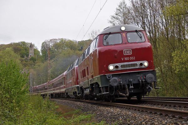 Bundesbahn-Dieselpower