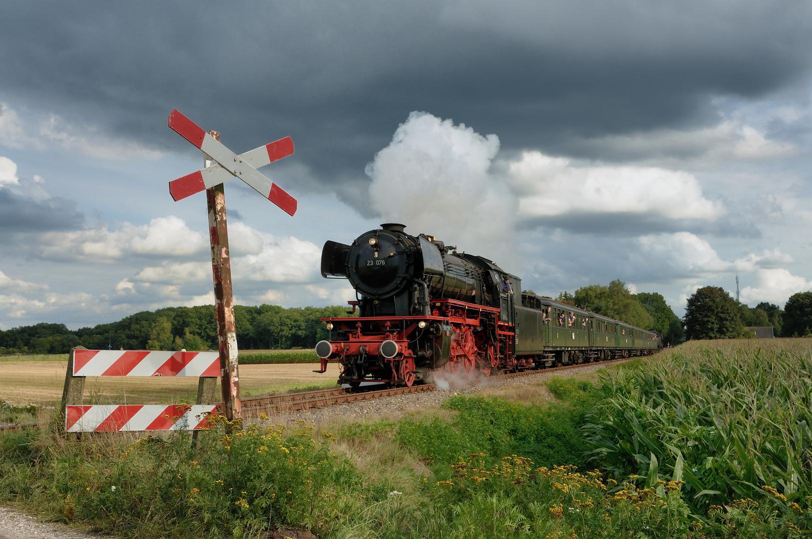 Bundesbahndampf im Nachbarland