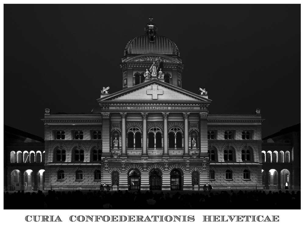 Bundeshaus - Lichtshow