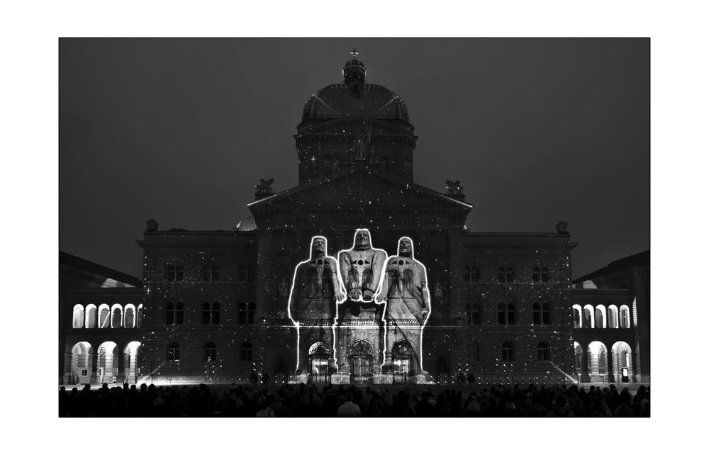 Bundeshaus - Lichtshow III