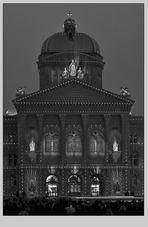 Bundeshaus - Lichtshow V
