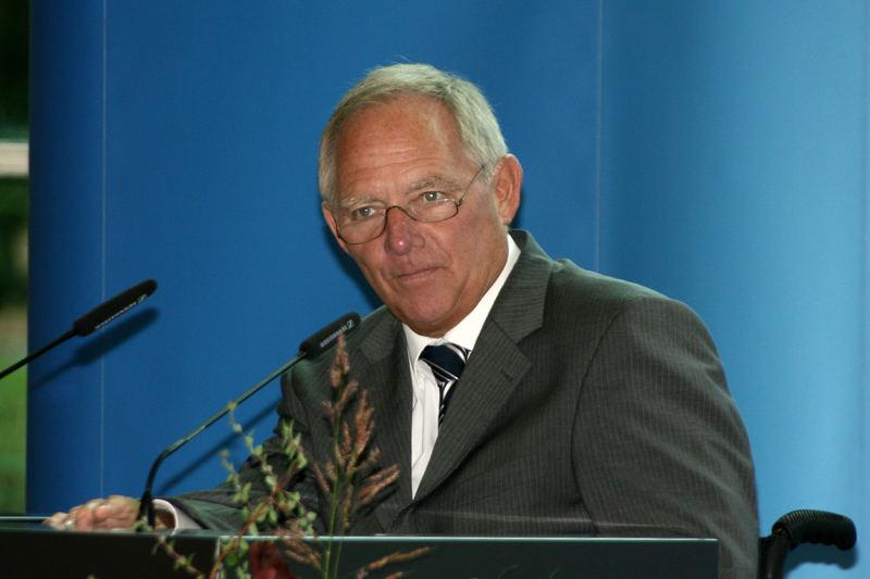 Bundesinnenminister Dr.Wolfgang Schäuble