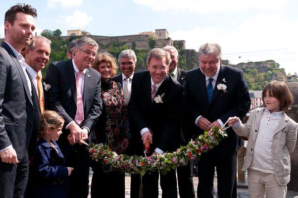 Bundespräsident eröffnet die BUGA 2011