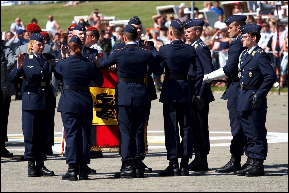 Bundeswehr-Gelöbnis - Büsum Mai 2008 #7