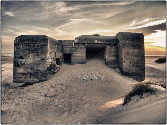 Bunker, Blavand, Dänemark