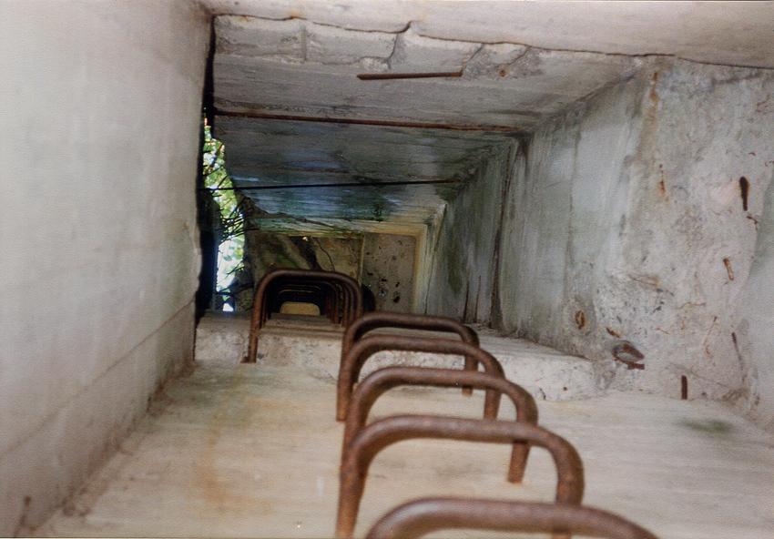 Bunker-Impressionen 1: Aufstieg im Schacht