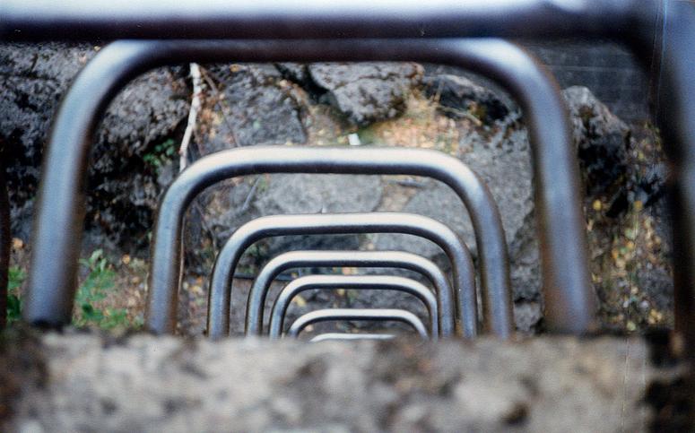 Bunker-Impressionen 2: Die Außenleiter