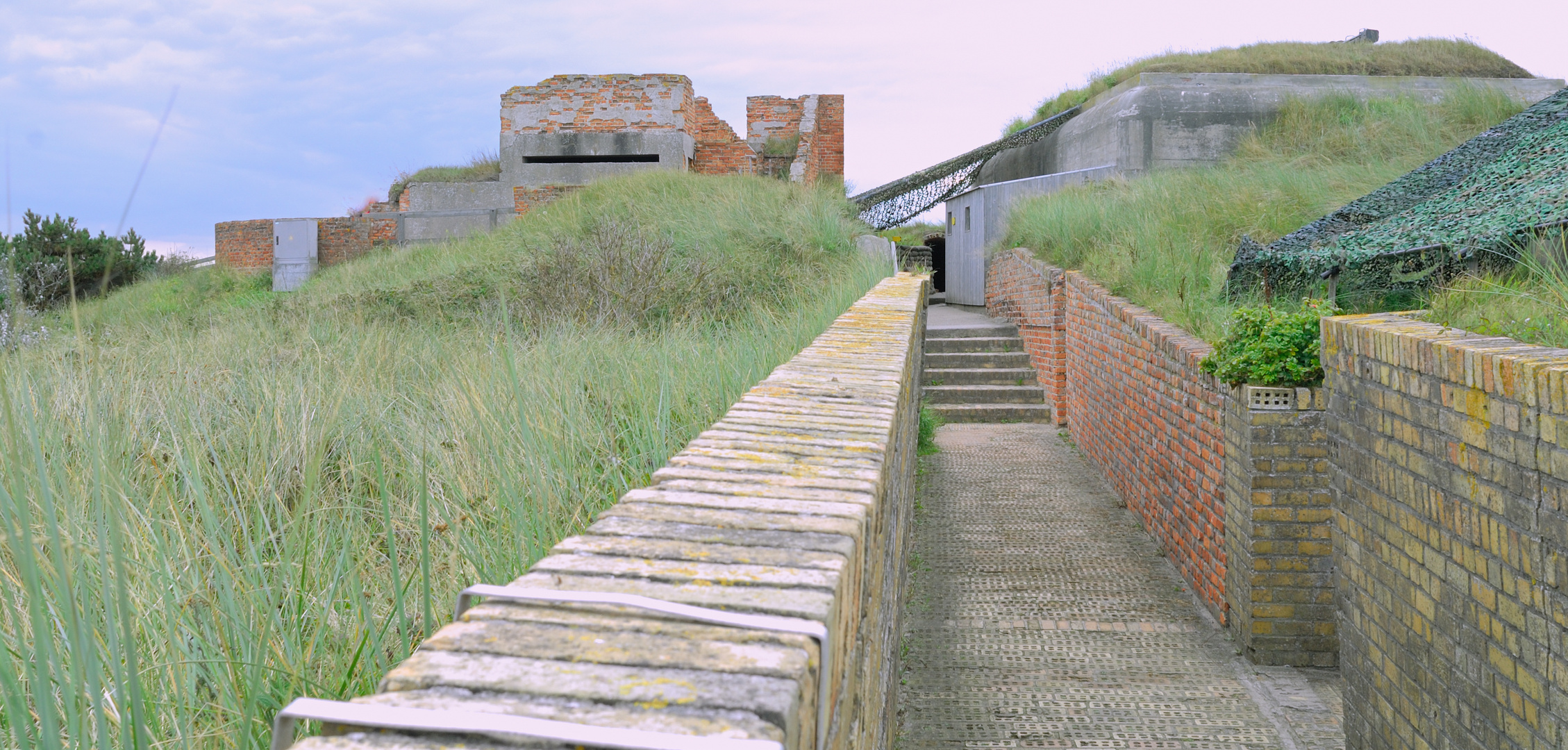 Bunkeranlage Bj. ca. 1911 bei Oostende-Belgien Atlantikwall