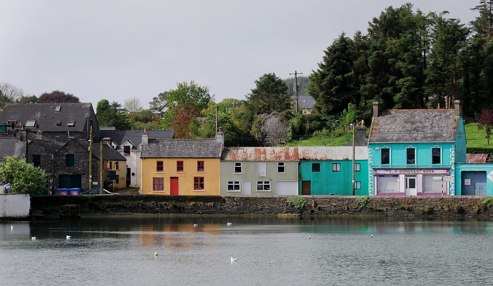 bunt ist´s auch im Süden Irlands
